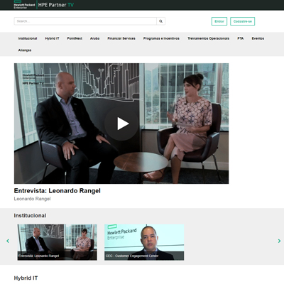 HP Enterprise Brazil Video Platform